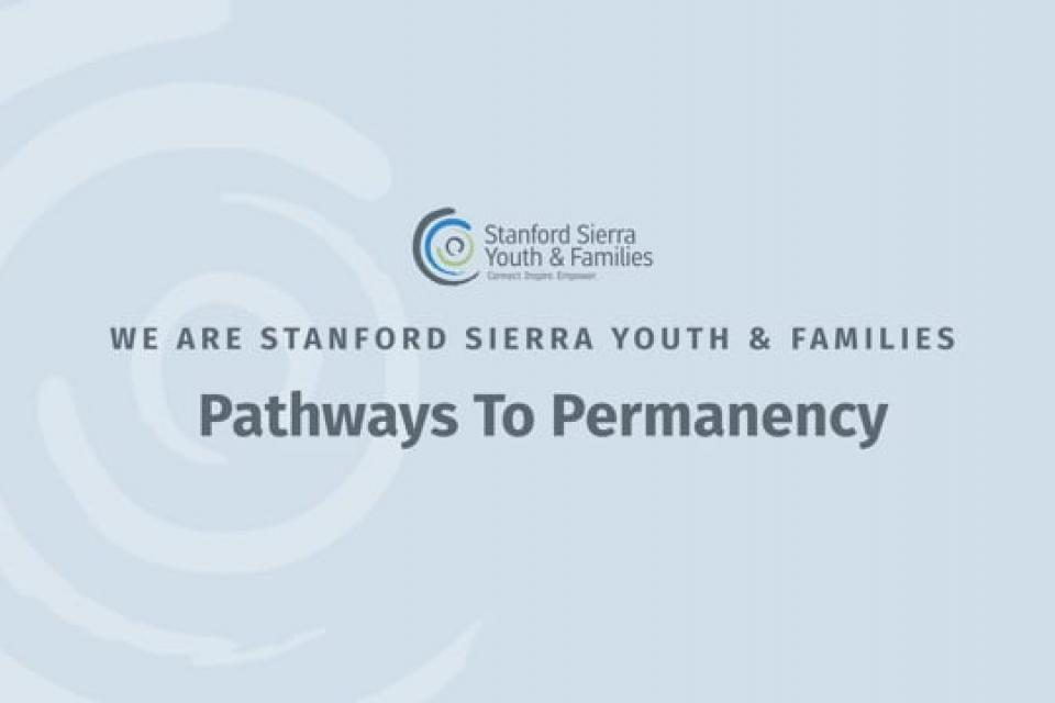 We are Stanford Sierra Youth & Families
