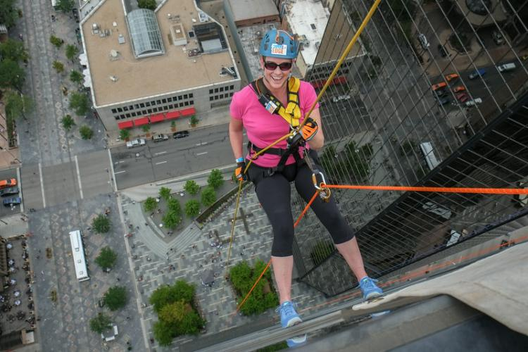 Image of Over the Edge – to support foster youth in Sacramento